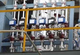 Distillation plant flow control